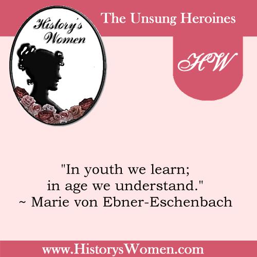 Quote by Marie von Ebner-Eschenbach