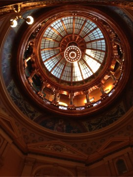 Refurbished dome - tours to the top start next week. Yes. it is scary but I will be there.
