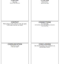 6 C's for analyzing primary sources   Doing Social Studies [ 1484 x 1114 Pixel ]