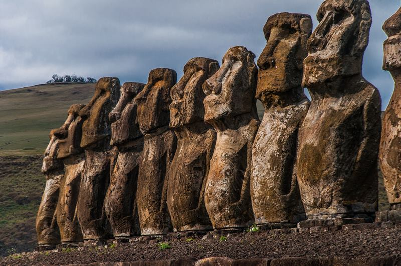 Unsolved Archaeology Moai of Easter Island Part I