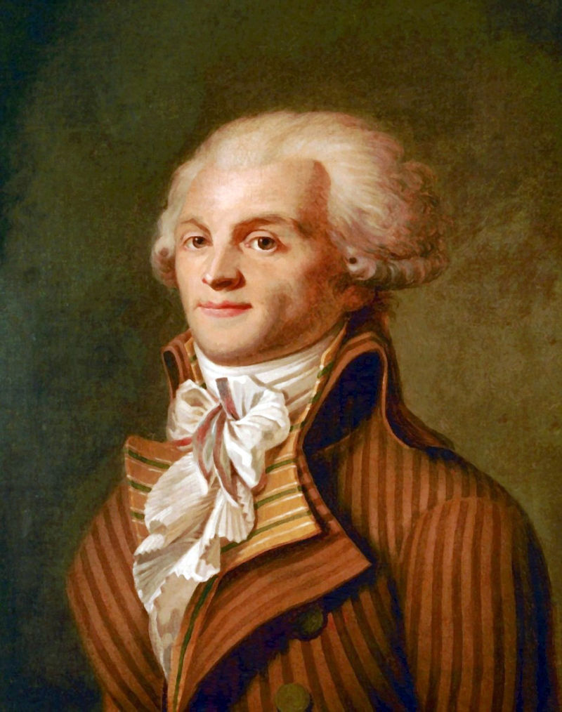 Image result for Maximilien Robespierre