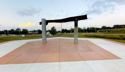 The September 11 Memorial Walkway of Southern Illinois 3D Model