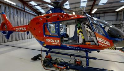 Air Ambulance Eurocopter EC135 3D Model