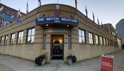Moto Museum 3D Model