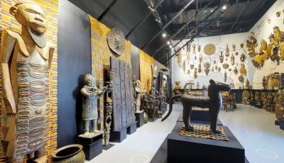 African Tribal Art Showroom 3D Model