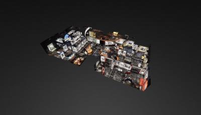 Auckland Museum: Volume 3D Model