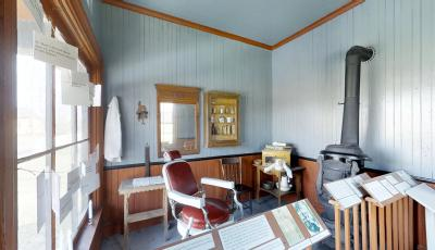 Buffalo Niagara Heritage Village: Barbershop 3D Model
