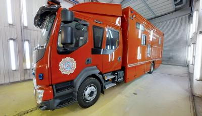 UK Fire & Rescue Incident Command Unit