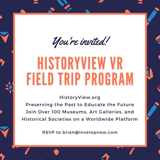 HistoryView VRField Trip Program