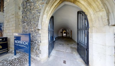 Norwich Cathedral: Cloisters