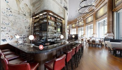 The Palm Restaurant: Boston 3D Model