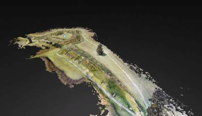 Colonial National Historical Park: Yorktown Battlefield – Redoubt 9 3D Model