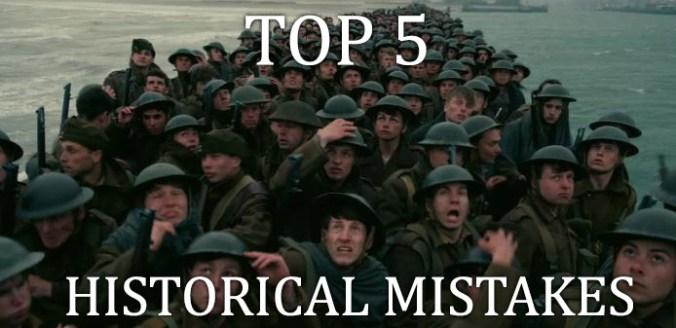 braveheart mistakes