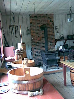 Fort Nisqually kitchen