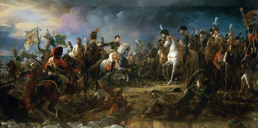 Napoleon at Austerlitz