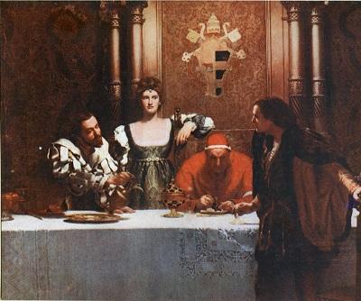 Cesare Borgia, Lucrezia, Pope Alexander