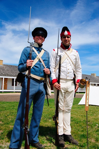 Uniforms of US and Mexico During Mixican War