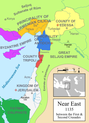 Crusader States 1135