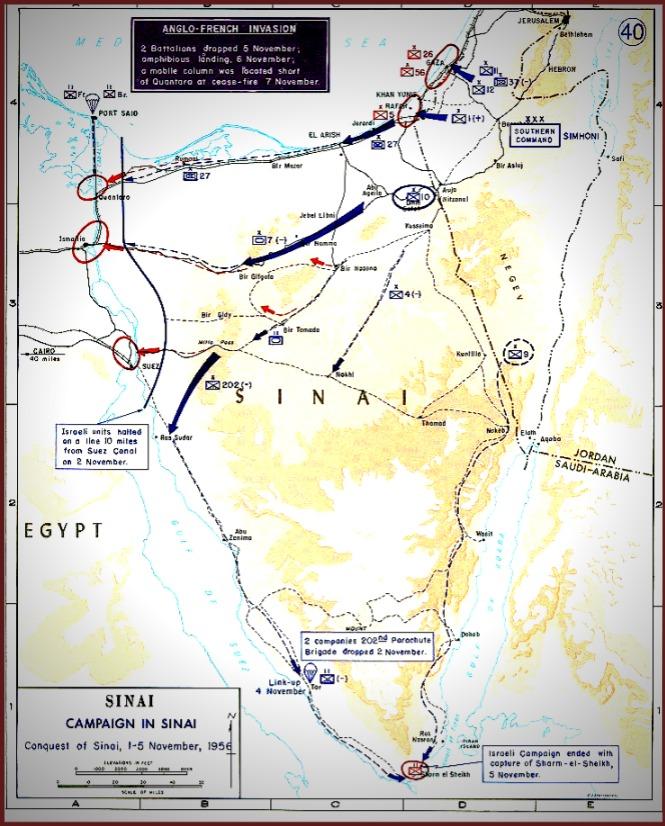 1956 Suez Conflict
