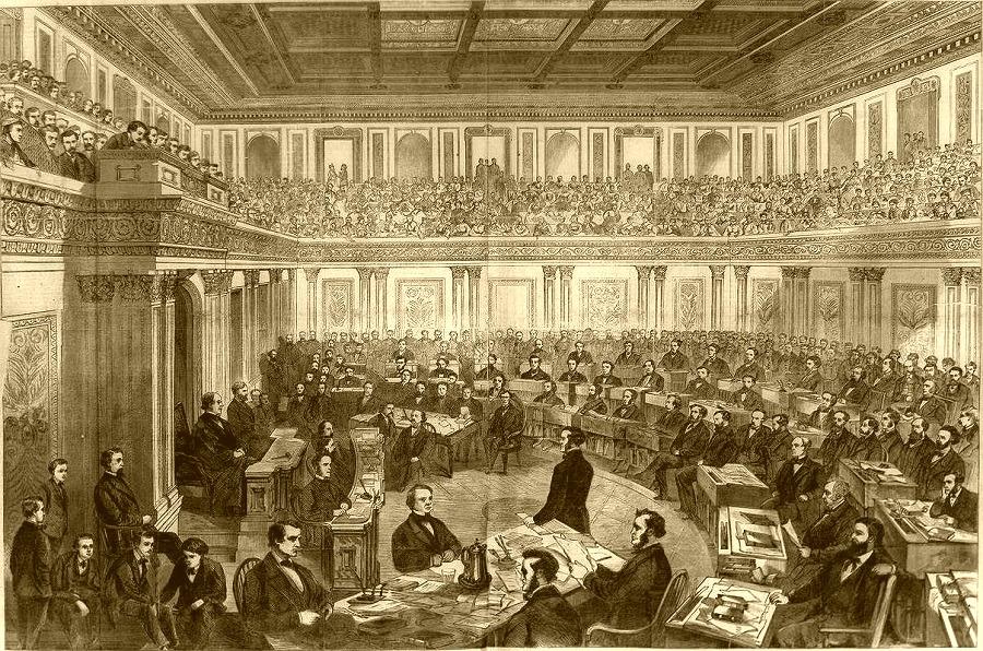 Senate in 1868