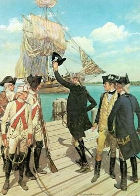 Washington Greets French Arrivals