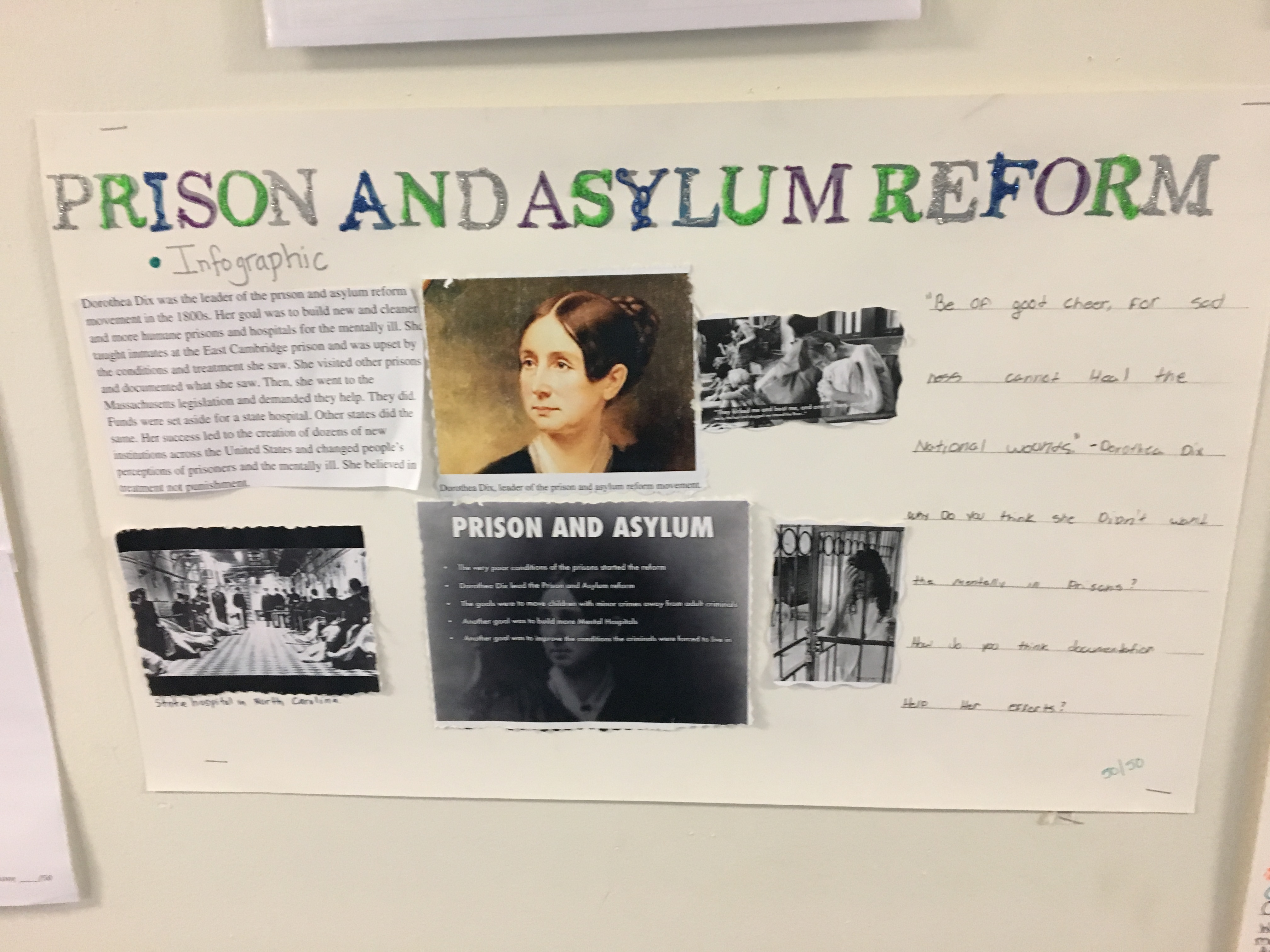 Student Projects Reform Movements History With Mrs Johnson