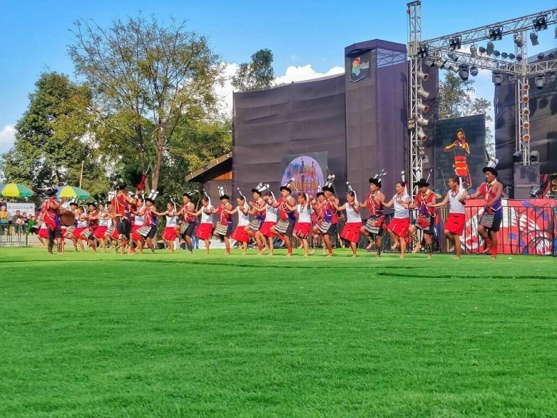 Cultural performance Hornbill Festival 2019