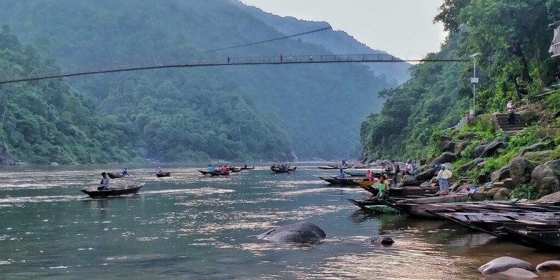 Shnongpdeng is a quiet fishing village - North East Trip Blog
