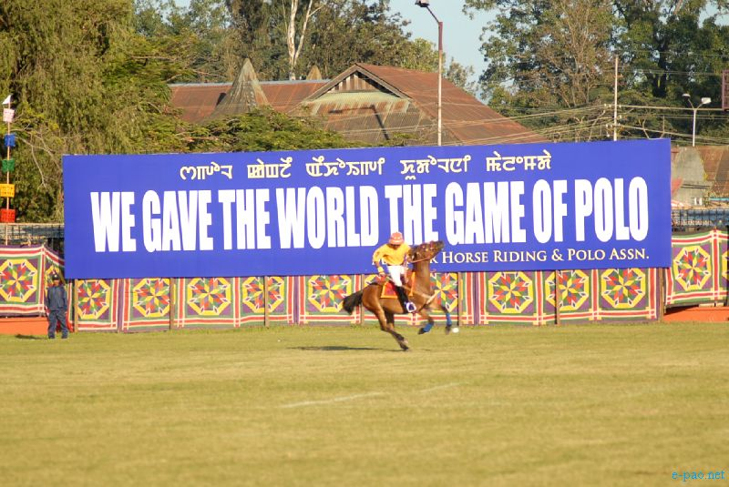 A game of polo held at Mapal Kangjeibung, Imphal, the world's oldest existing polo ground. Picture Credits - Jinendra Maibam