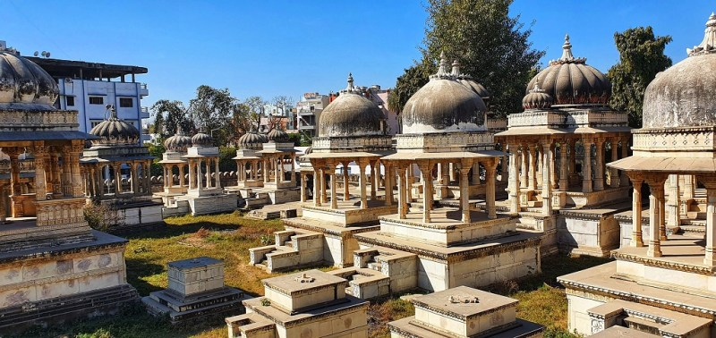 Cenotaphs at Ahar