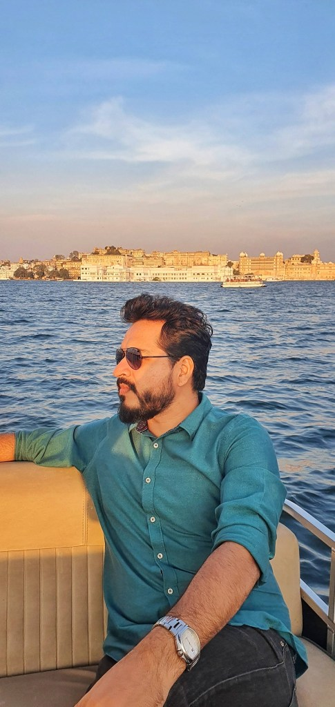City of Lakes - Sunset Boat Ride at Lake Pichola