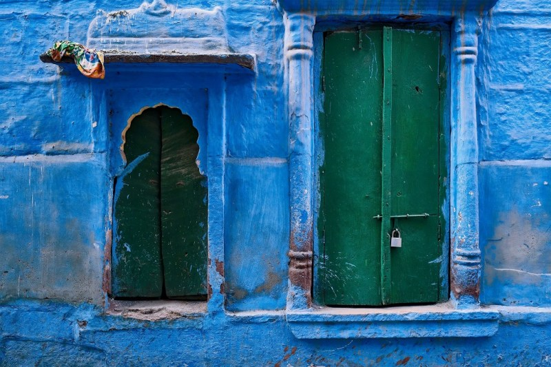 Jodhpur blue city, blue houses