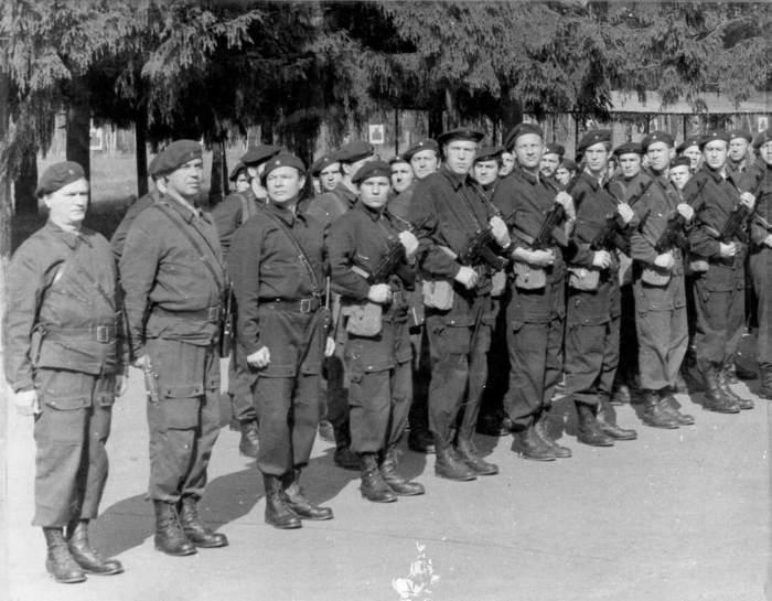 Первый состав Группы «А» Седьмого управления КГБ СССР