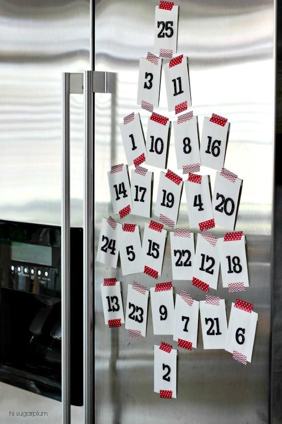 Hi Sugarplum | Easiest Advent Calendar Ever