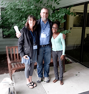 Karen and Craig Fulwyler and Maria Branford at Restored Hope Network Annual Conference 2014