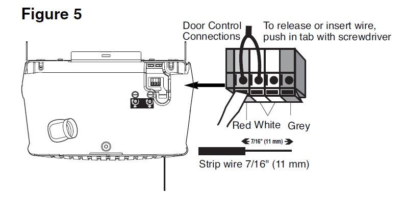 Garage Door Opener Sensor Wiring Diagram, Garage, Free