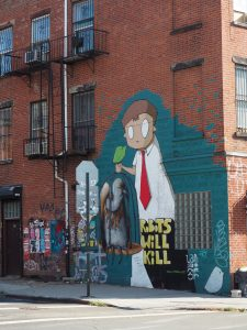 StreetArt in Brooklyn - everywhere