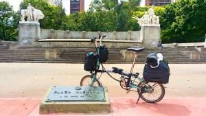 bags folding bike, bike travel, holiday by bicycle, bike holiday