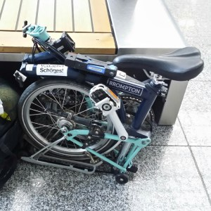 Brompton, folding bike, flying with a brompton, flying with a bike