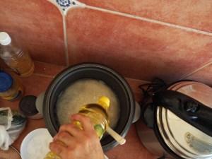 Reis mit Öl, Kokosauce Rezept, Kuba Rezept,