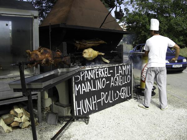 Grills in Kroatien