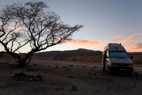 Wüste Negev bei Eilat