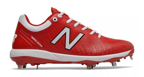 New Balance 4040v5 Metal Spikes - Red/White (L4040TR5)