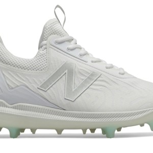 New Balance - FuelCell COMPv2 White Hybrid Baseball Cleats (LCOMPTW2)