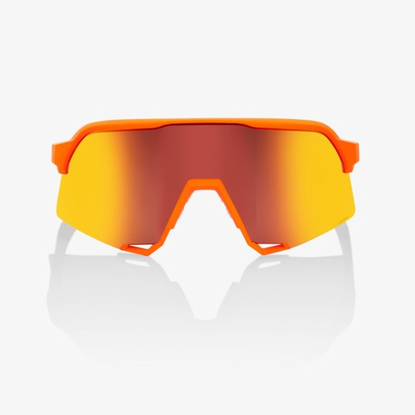 100% - S3 - Soft Tact Neon Orange/HiPER Red Multilayer (61034-006-43)