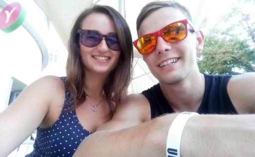 """selfie a la """"dojeli jsme do Vídně"""""""