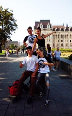 V centru Budapešti