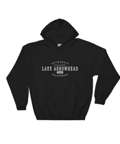 Authentic Lake Arrowhead Hooded Sweatshirt