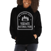 RV There Yet? Yosemite National Park Hooded Sweatshirt (Unisex) Black