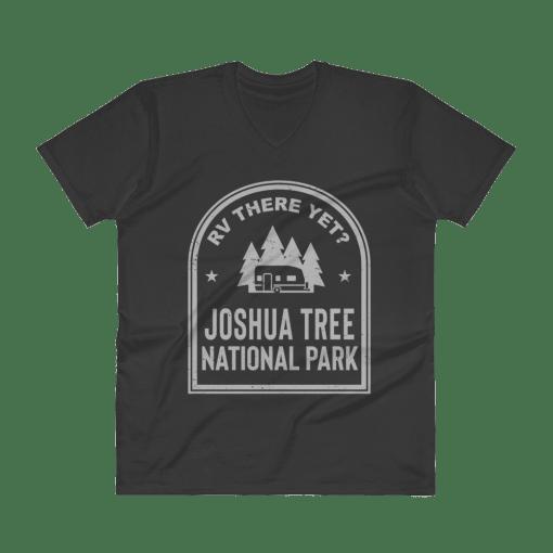 RV There Yet? Joshua Tree National Park V-Neck (Men's) Black